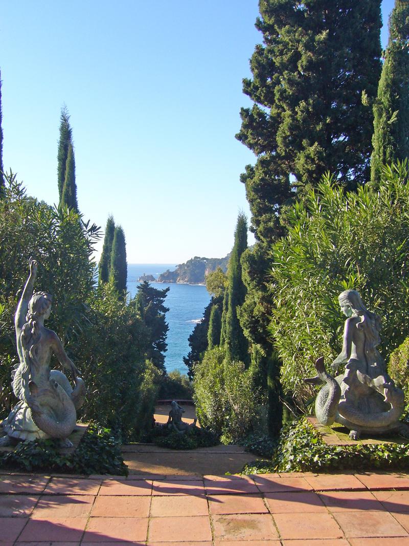 Jard n bot nico de santa clotilde lloret de mar for Cementerio jardin del mar