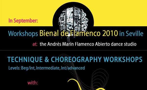 Imagen 1 de 3 - Cartel Cursos durante Bienal 2010