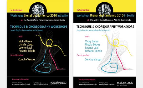 Imagen 2 de 3 - Cartel Cursos durante Bienal 2010