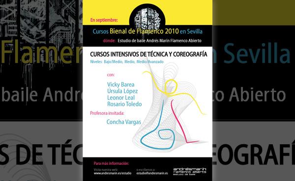 Imagen 3 de 3 - Cartel Cursos durante Bienal 2010
