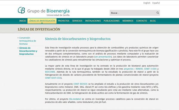 Imagen 2 de 4 - Grupo de Bioenergía