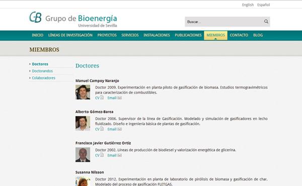 Imagen 3 de 4 - Grupo de Bioenergía