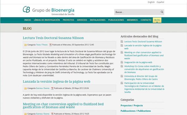 Imagen 4 de 4 - Grupo de Bioenergía