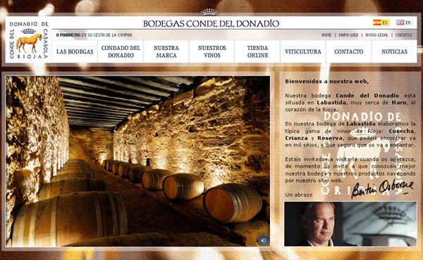 Imagen 3 de 4 - Bodegas Conde del Donadío