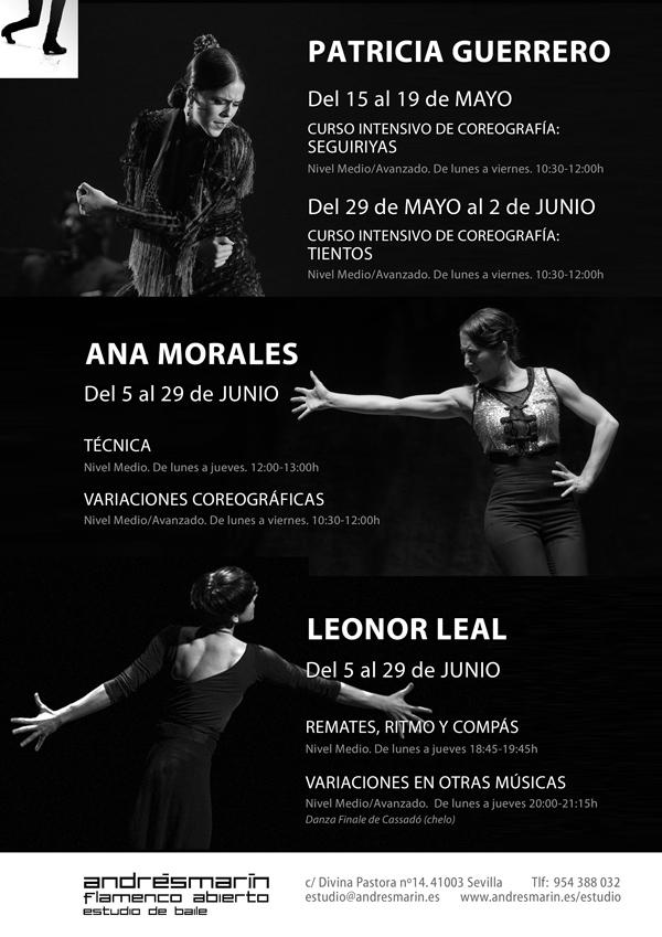 Imagen 1 de 3 - Carteles cursos Baile Flamenco