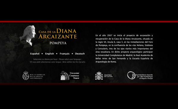 Imagen 2 de 8 - Casa de la Diana Arcaizante en Pompeya