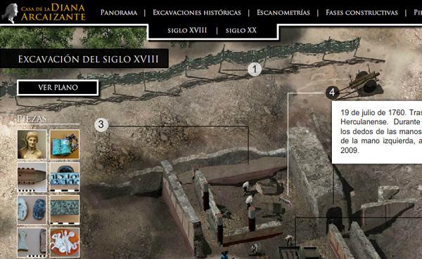 Imagen 3 de 8 - Casa de la Diana Arcaizante en Pompeya