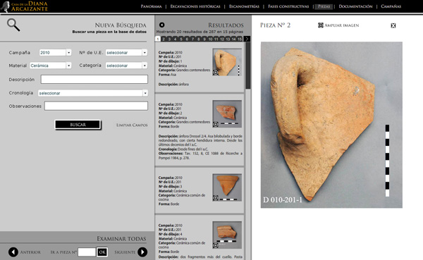 Imagen 4 de 8 - Casa de la Diana Arcaizante en Pompeya