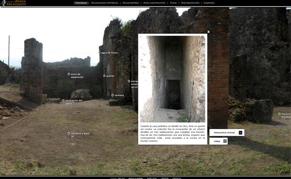 Imagen 5 de 8 - Casa de la Diana Arcaizante en Pompeya