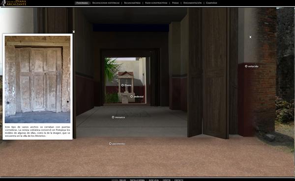 Imagen 6 de 8 - Casa de la Diana Arcaizante en Pompeya