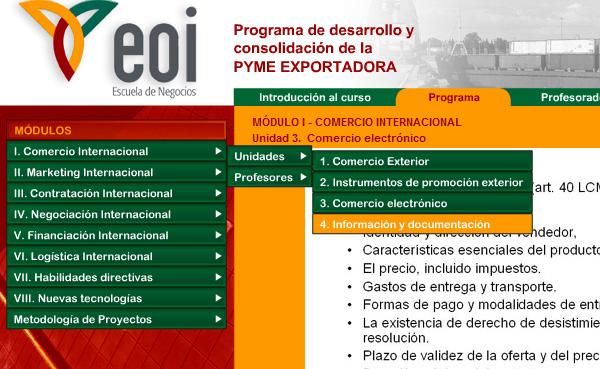 Imagen 4 de 4 - EOI Pymes exportadoras
