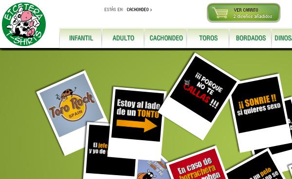 Imagen 3 de 5 - Aplicaci贸n Etcetera T-shirts