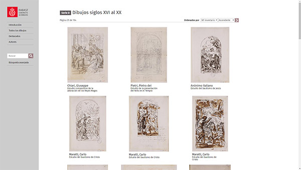 Imagen 2 de 8 - Gabinete de Dibujos de la RABASF