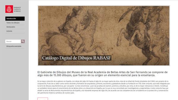 Imagen 1 de 8 - Gabinete de Dibujos de la RABASF