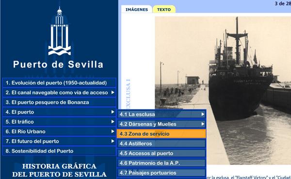 Imagen 2 de 5 - Historia Gráfica del Puerto de Sevilla