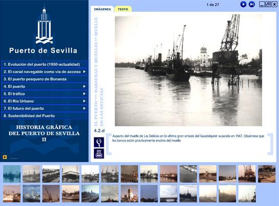 Imagen 3 de 5 - Historia Gráfica del Puerto de Sevilla