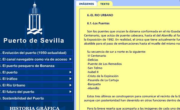 Imagen 5 de 5 - Historia Gráfica del Puerto de Sevilla