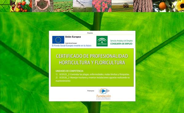 Imagen 1 de 4 - Certificado de profesionalidad de horticultura y floricultura