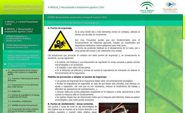 Imagen 2 de 4 - Certificado de profesionalidad de horticultura y floricultura