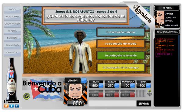 Imagen 1 de 5 - Ron Legendario - juego online multijugador