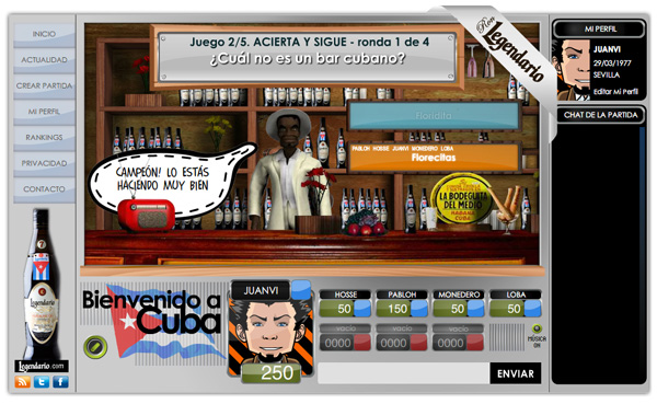 Imagen 3 de 5 - Ron Legendario - juego online multijugador