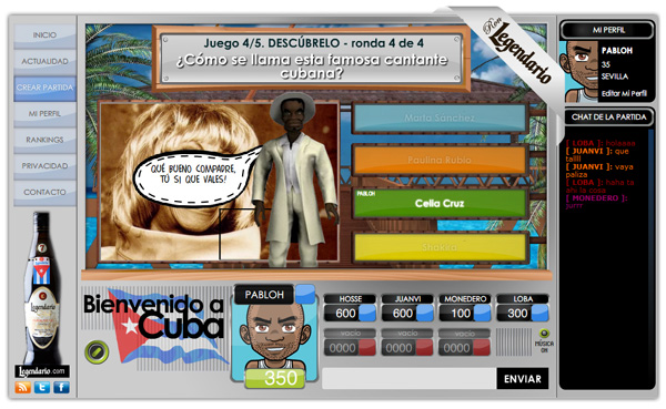 Imagen 5 de 5 - Ron Legendario - juego online multijugador