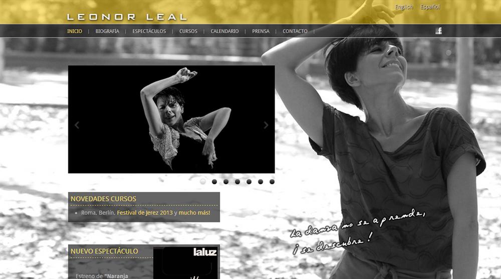 Imagen 1 de 4 - Leonor Leal - Bailaora de Flamenco