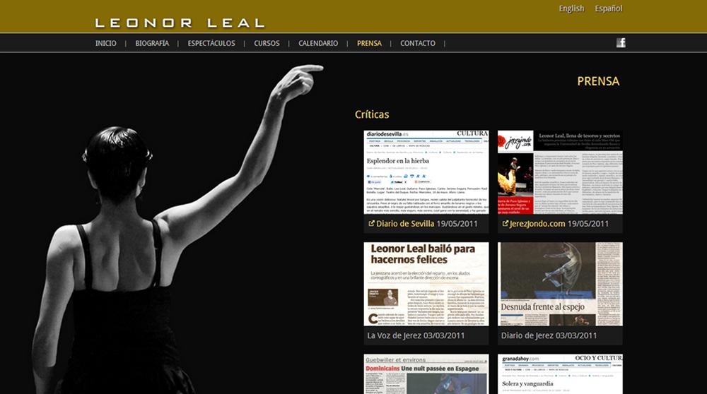 Imagen 2 de 4 - Leonor Leal - Bailaora de Flamenco