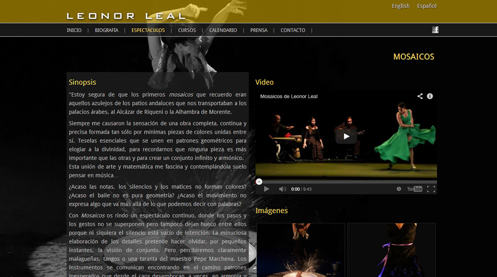 Imagen 3 de 4 - Leonor Leal - Bailaora de Flamenco