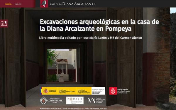 Imagen 1 de 7 - Libro multimedia Diana Arcaizante