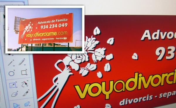 Imagen 3 de 4 - Logotipo VoyADivorciarme.com