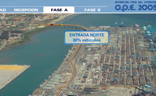 Imagen 2 de 4 - Operaci贸n Paso del Estrecho