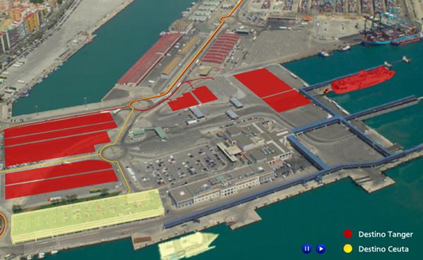 Imagen 3 de 4 - Operaci贸n Paso del Estrecho