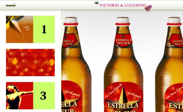 Imagen 1 de 4 - Presentaci贸n Estrella del Sur (Victorio y Lucchino)