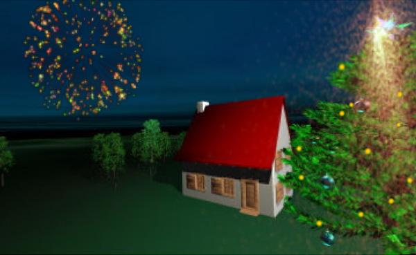 Imagen 1 de 6 - Tarjeta de Navidad JV Creaci贸n