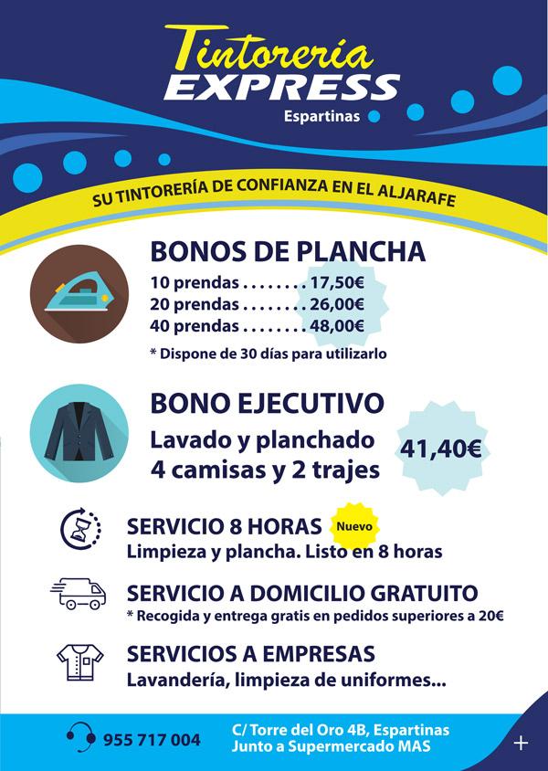 Imagen 1 de 2 - Flyer Tintorería Express