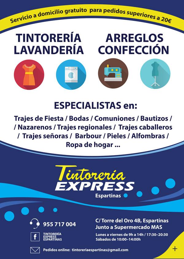 Imagen 2 de 2 - Flyer Tintorería Express
